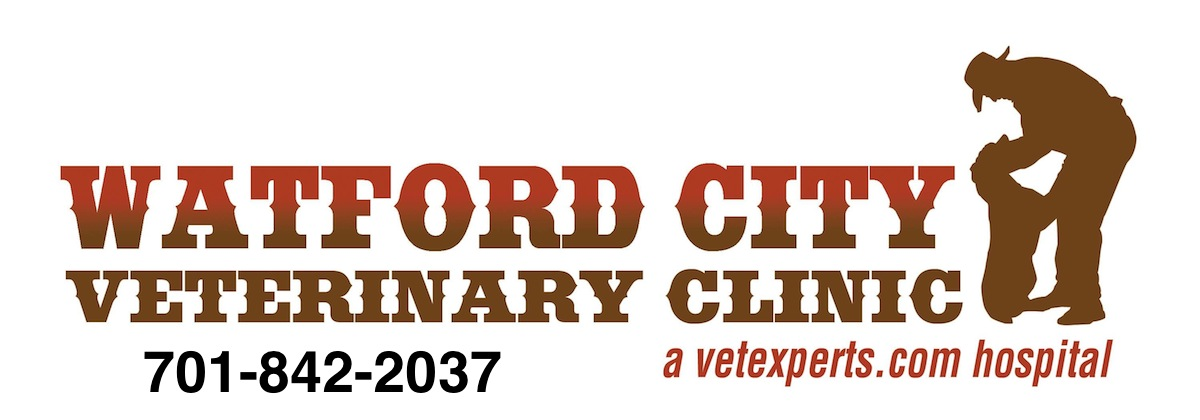 Watford City Veterinary Clinic Logo